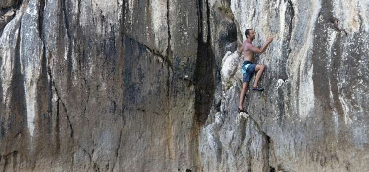 The Extreme Sport of Solo Climbing