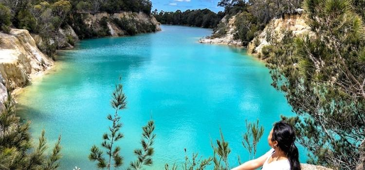 Little Blue Lake - Best Places to Visit in Tasmania