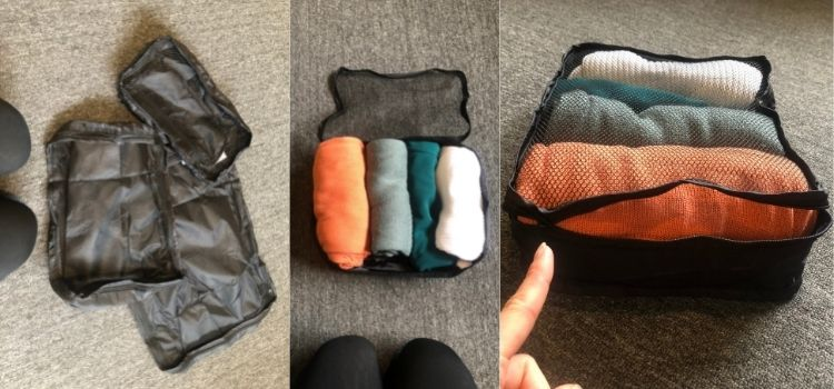 A Review of K-Mart Packing Cubes