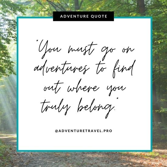 Adventure Quotes for Solo travellers