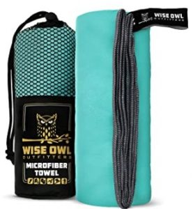 Wise Owl Travel Towel