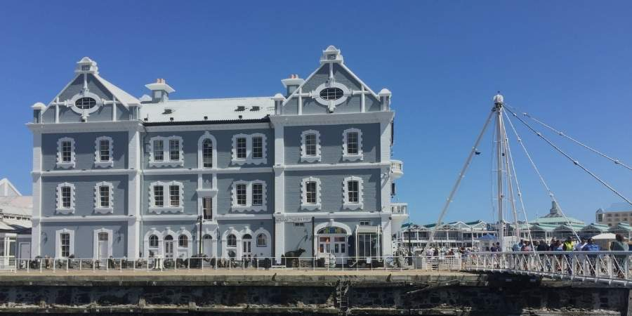 Explore the V & A Waterfront when travelling solo in Cape Town