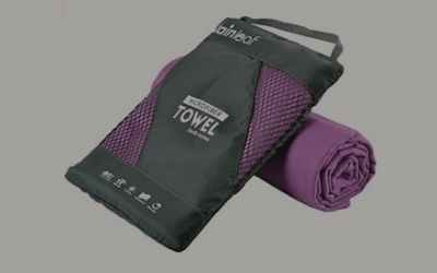 Microfibre towel for Malawi Travel