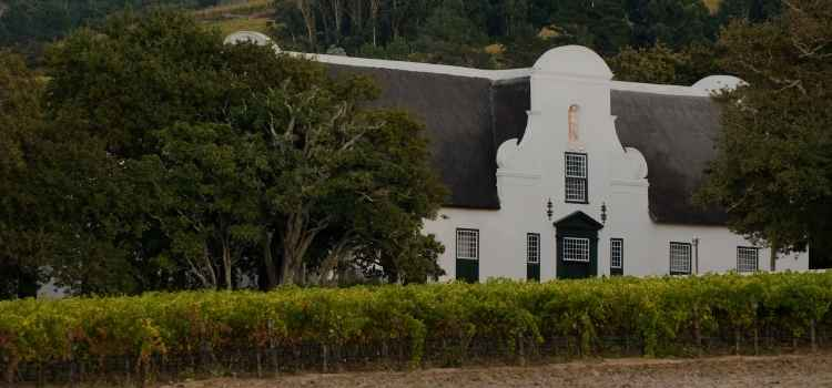 Groot Constantia - Winery Regions in South Africa
