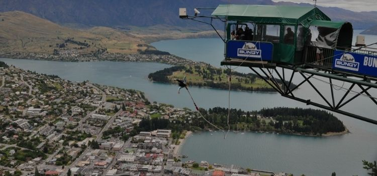The Ledge Bungy - Queenstown, New Zealand