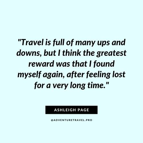 Adventure TRavel Quotes for regular travellers
