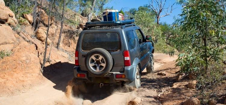 Hiring a 4WD can be a great way to get around Tasmania
