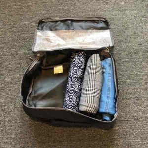 How to pack a packing cell with pants